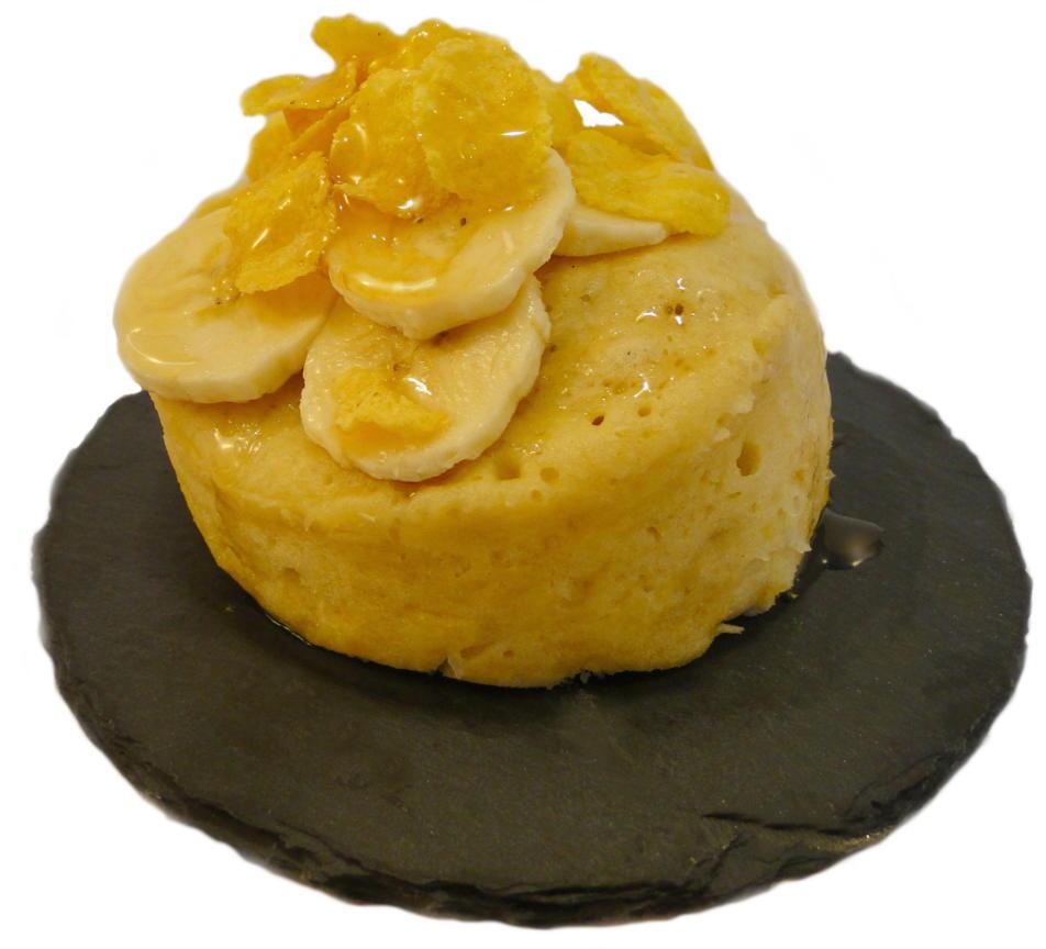 Liebliche Banane Mug Cake