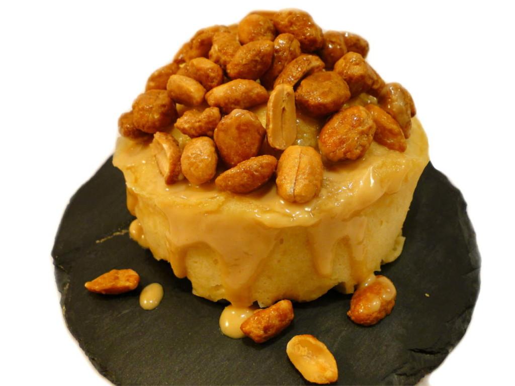 Erdnuss Deluxe Mug Cake