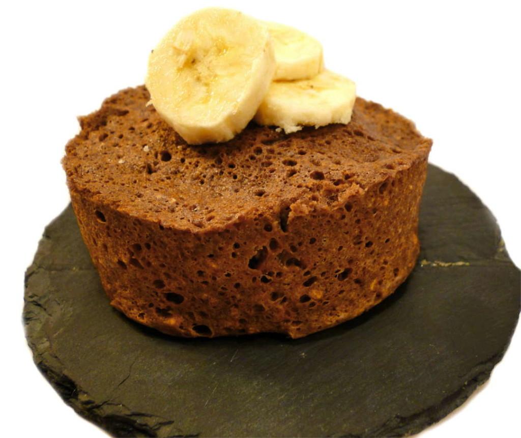 Fitness Schokolade Rezept Mikrowellenkuchen