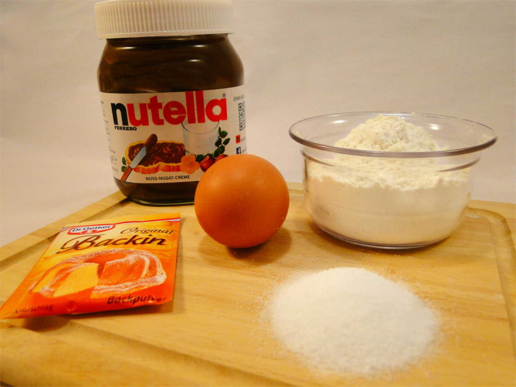 Nutella Cake Zutaten