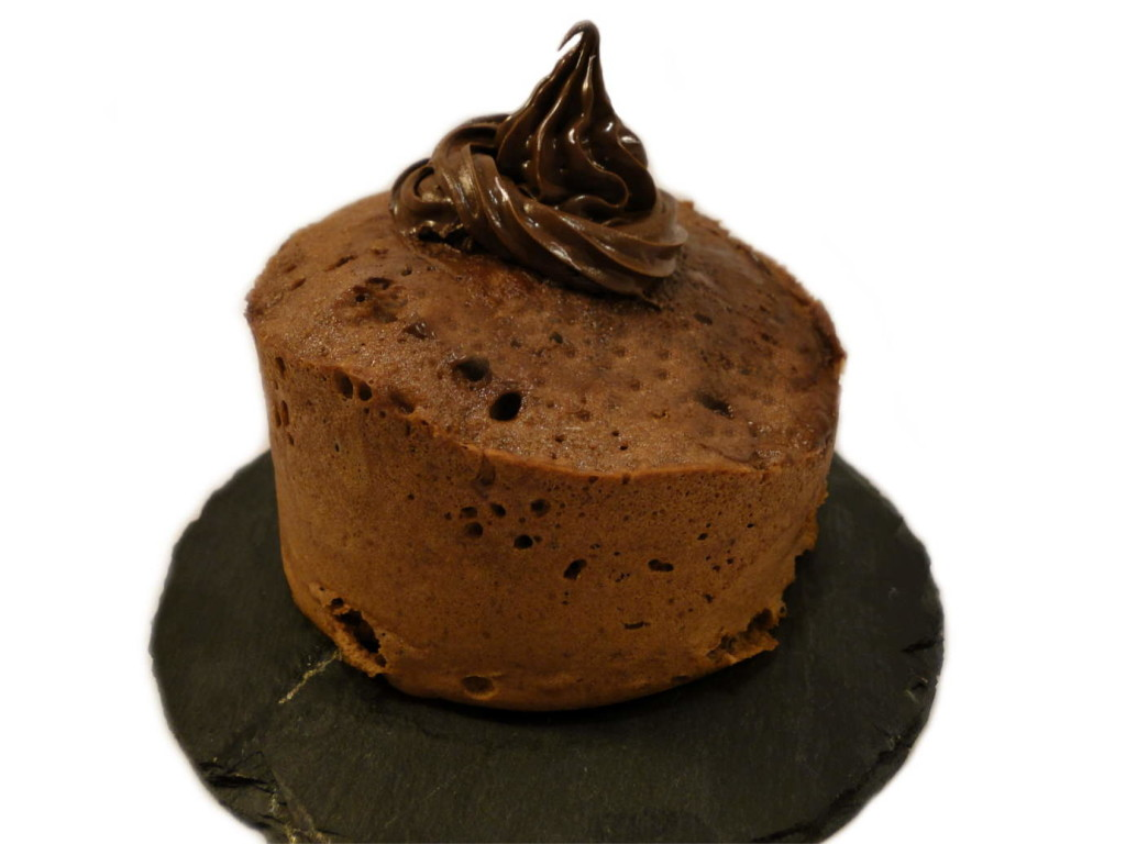 Nutella Cake Mikrowellenkuchen