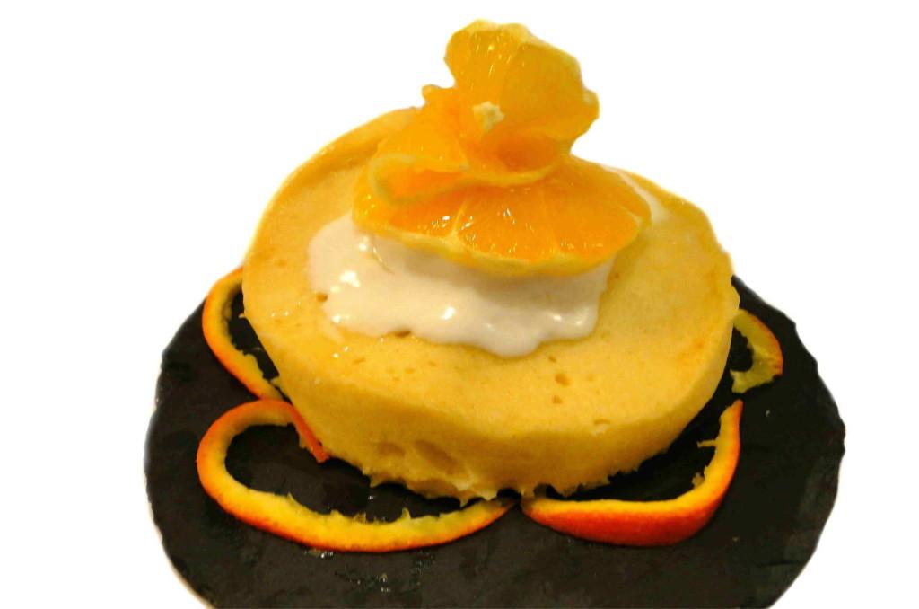 Saftige Orange Mug Cake